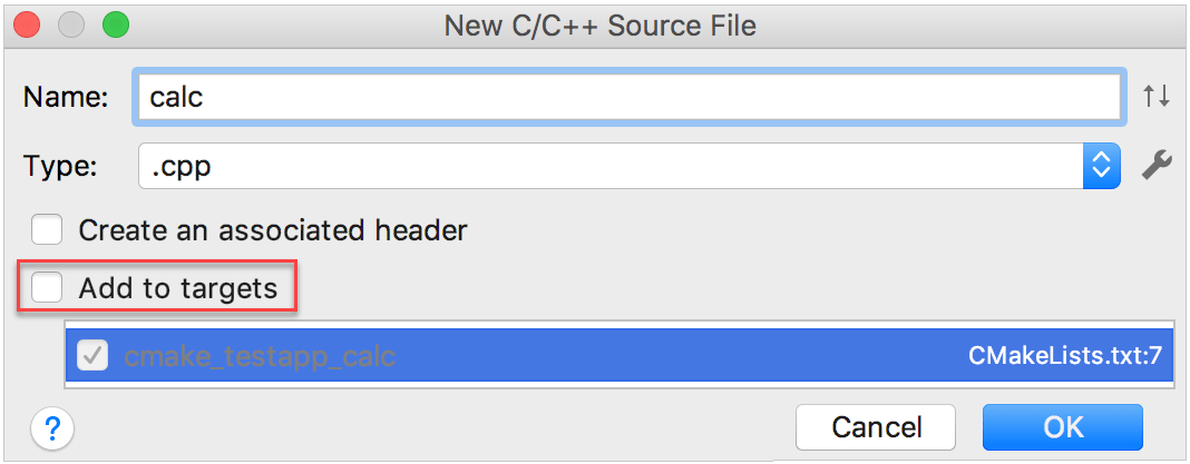 add a new source file