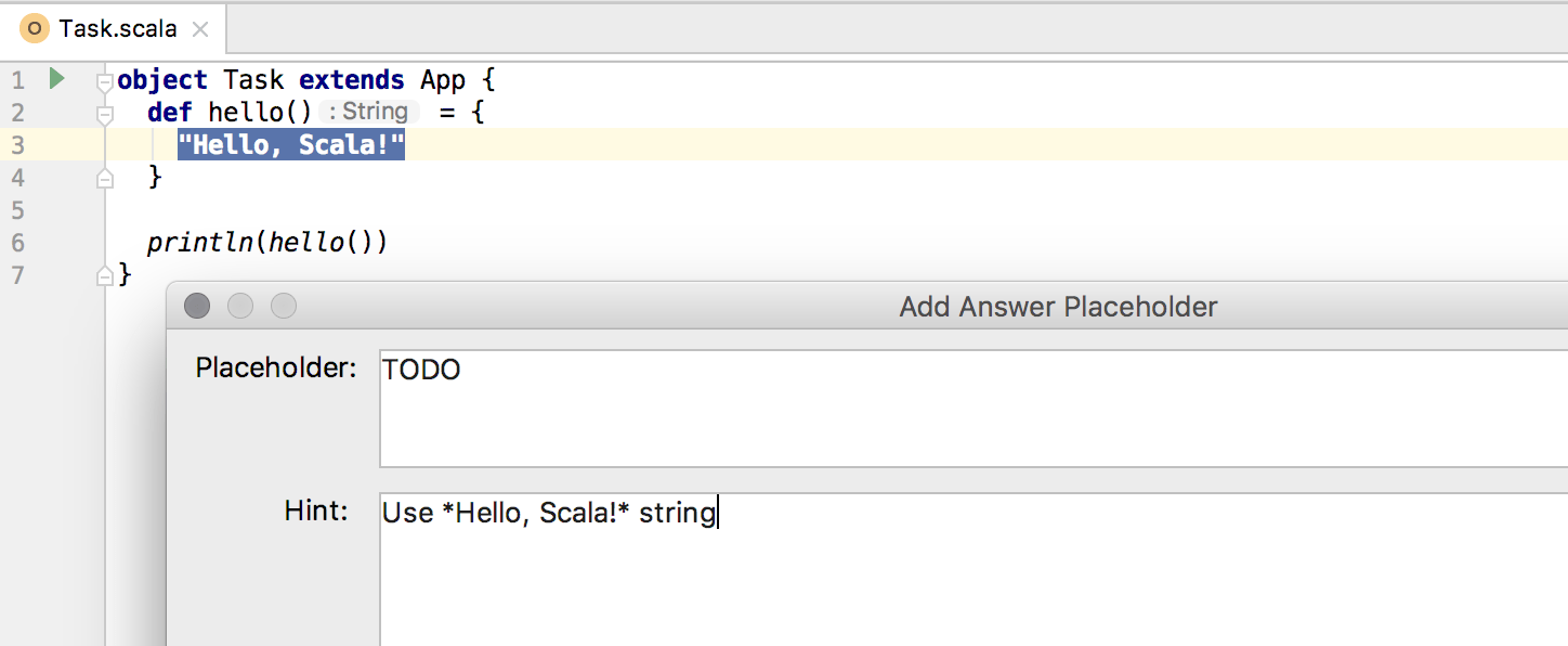 edu answer placeholder scala