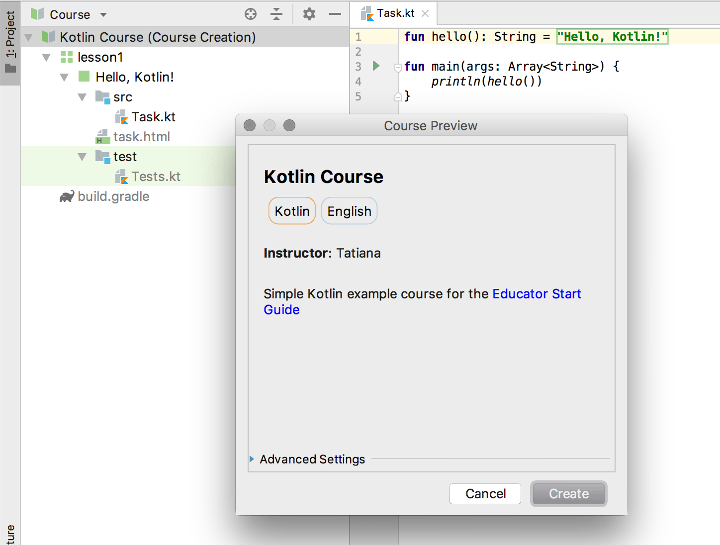 edu course preview kotlin