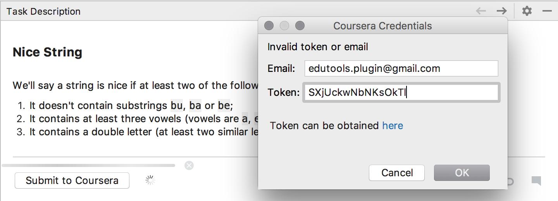 Coursera credentials