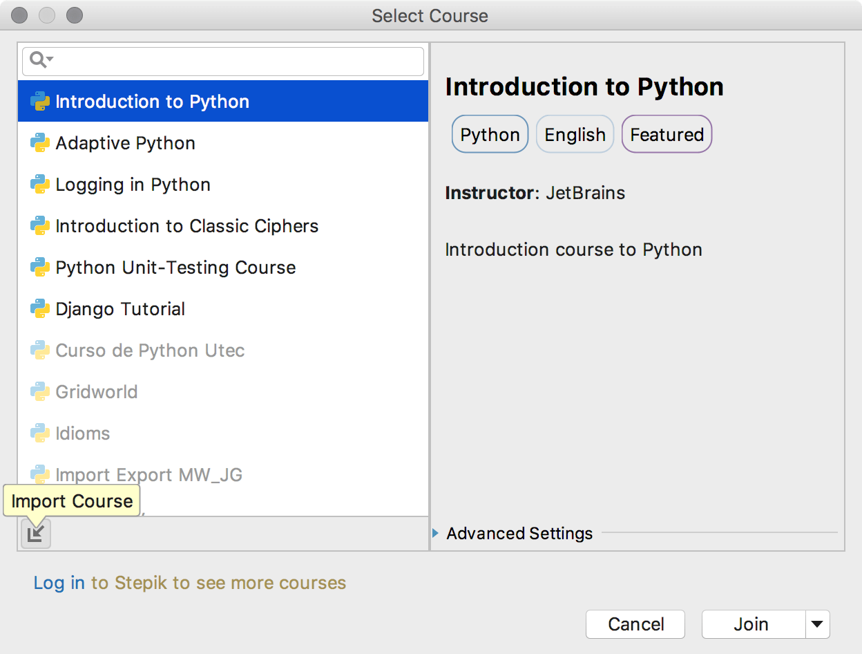 edu import course python