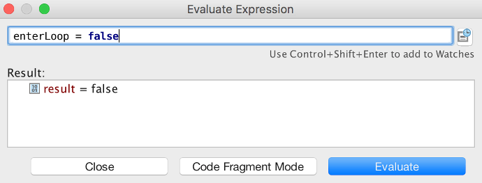 Use Evaluate Expression to stop the loop