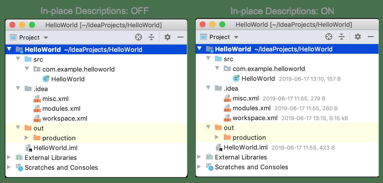 Project Tool Window Help Intellij Idea