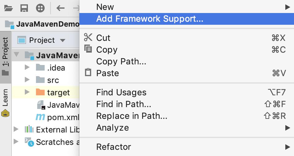 Project tool window