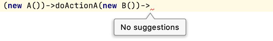 Method return type not overridden