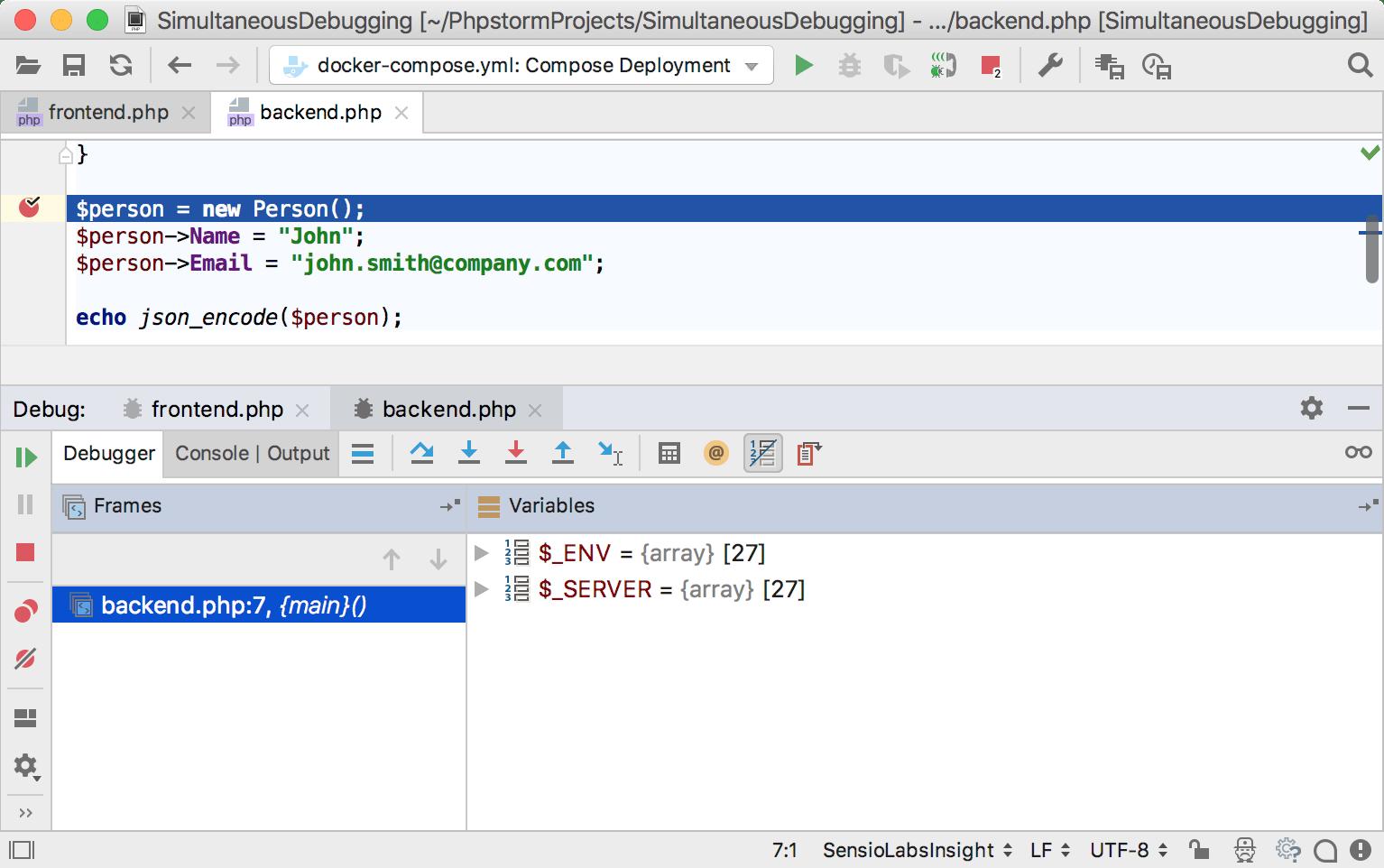 ps simultaneous debugging 2