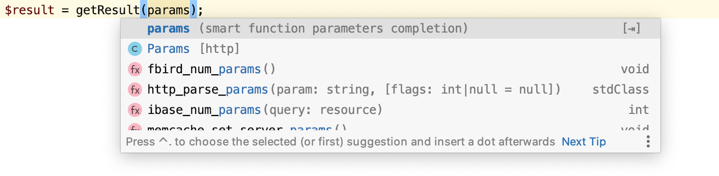 Smart parameters completion.png