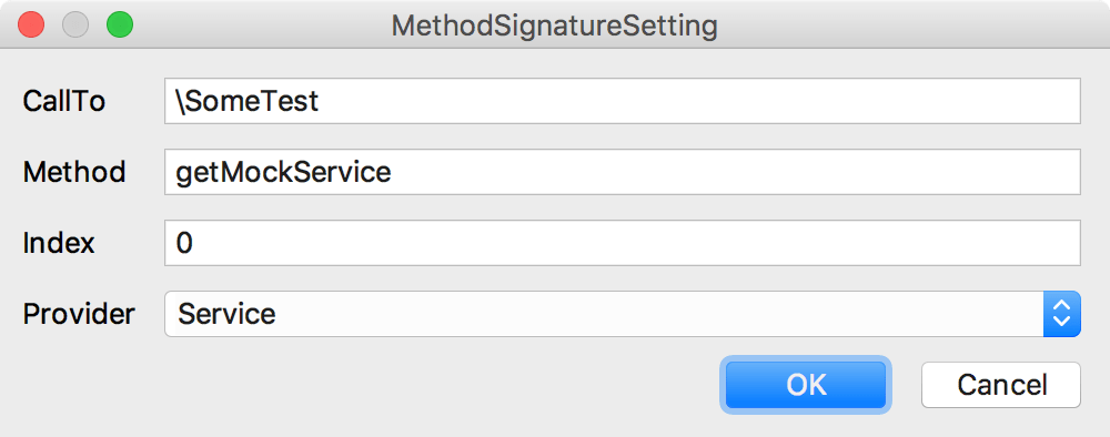 Create Symfony helper function custom signature