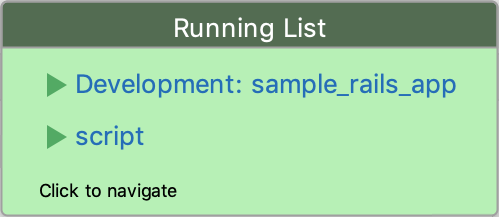 Running List