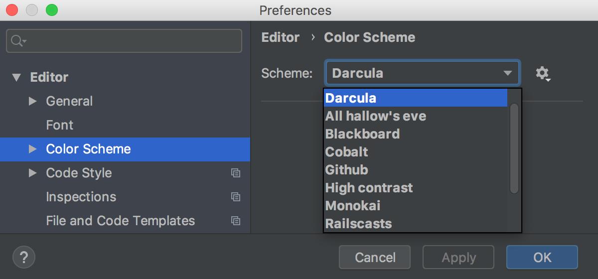 Configuring Colors And Fonts Help Webstorm