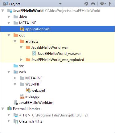 HWJEE053AppXMLInProject