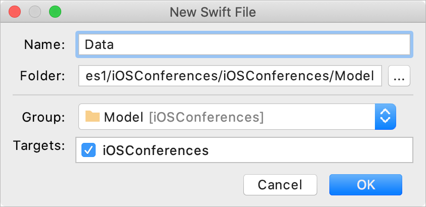Add a new Swift file