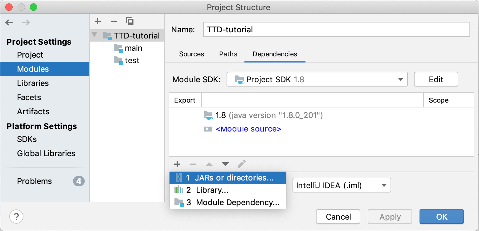 Adding a new dependency