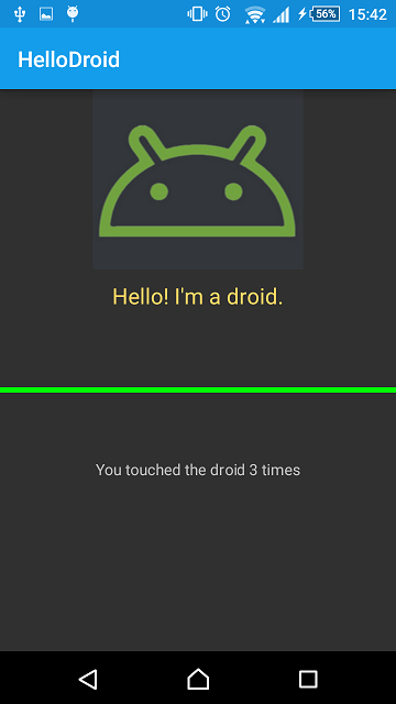 android application physical