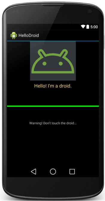 android ui layout preview