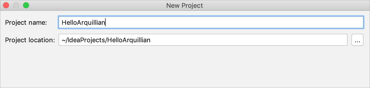 Creating a project with Arquillian JUnit support