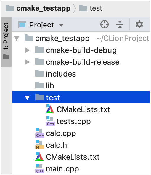 load CMake sub-projects