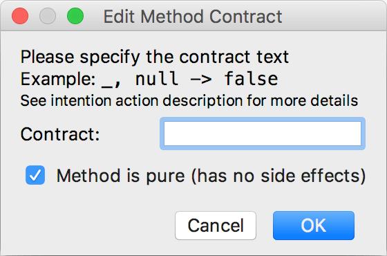 contract annotation lib1