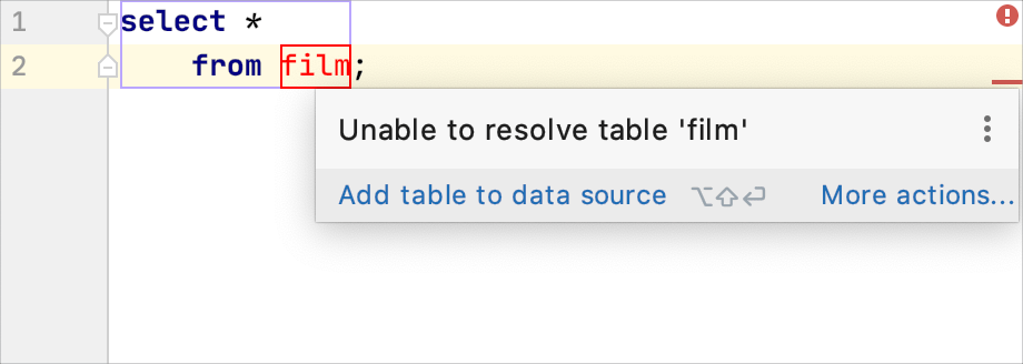 Object is not resolved
