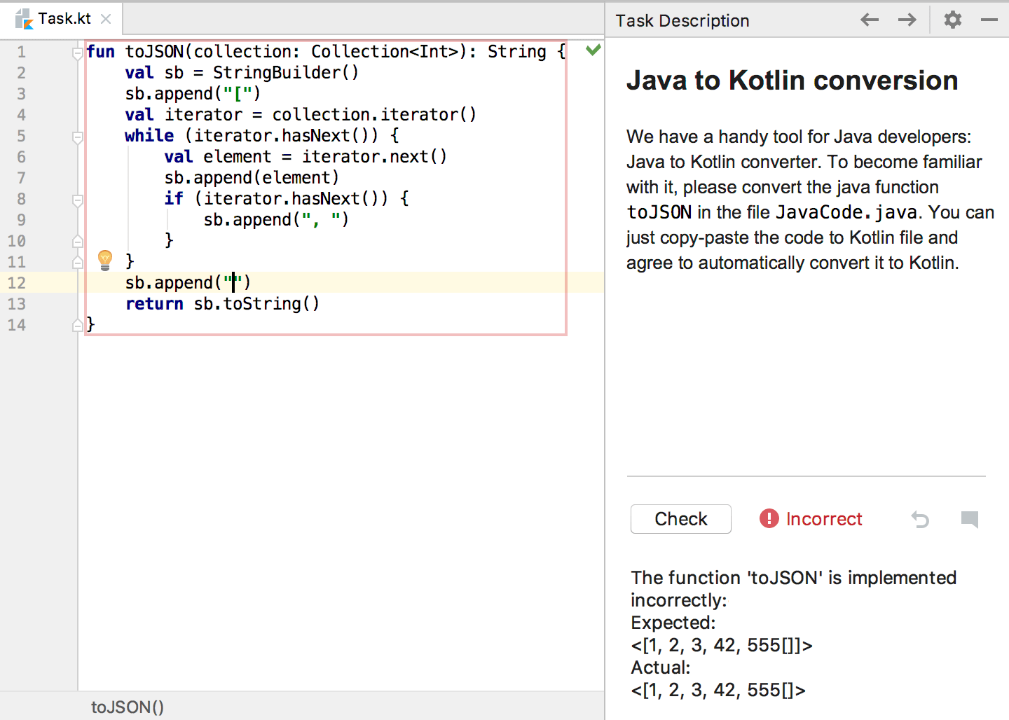 edu error kotlin koans