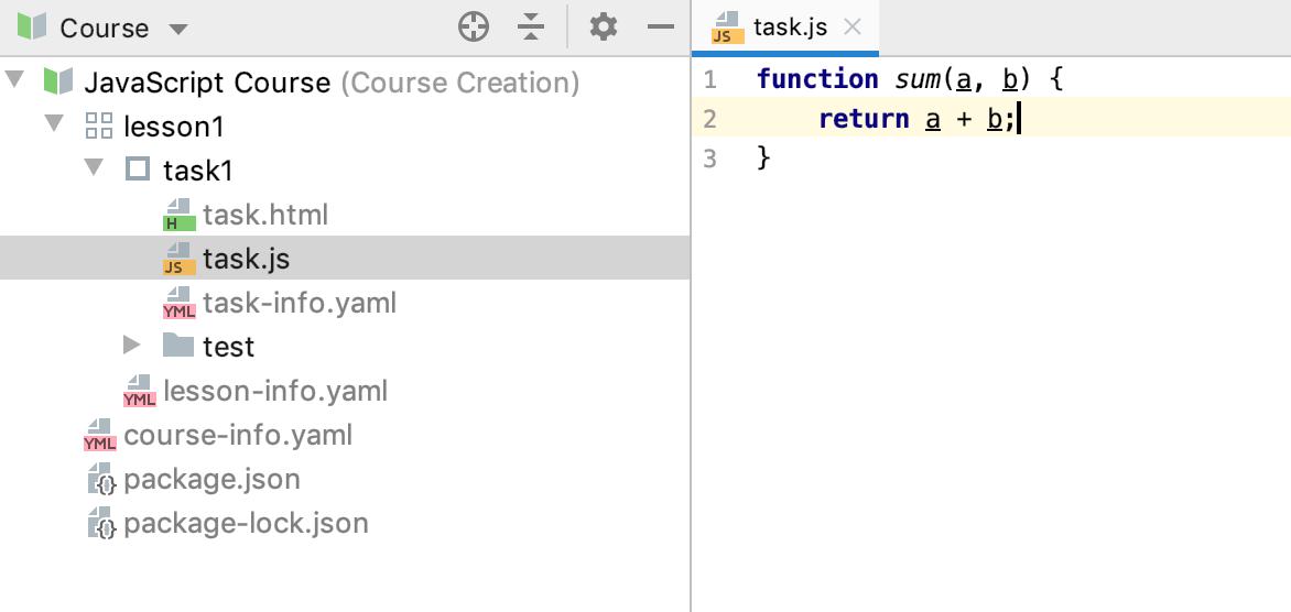 edu task code js