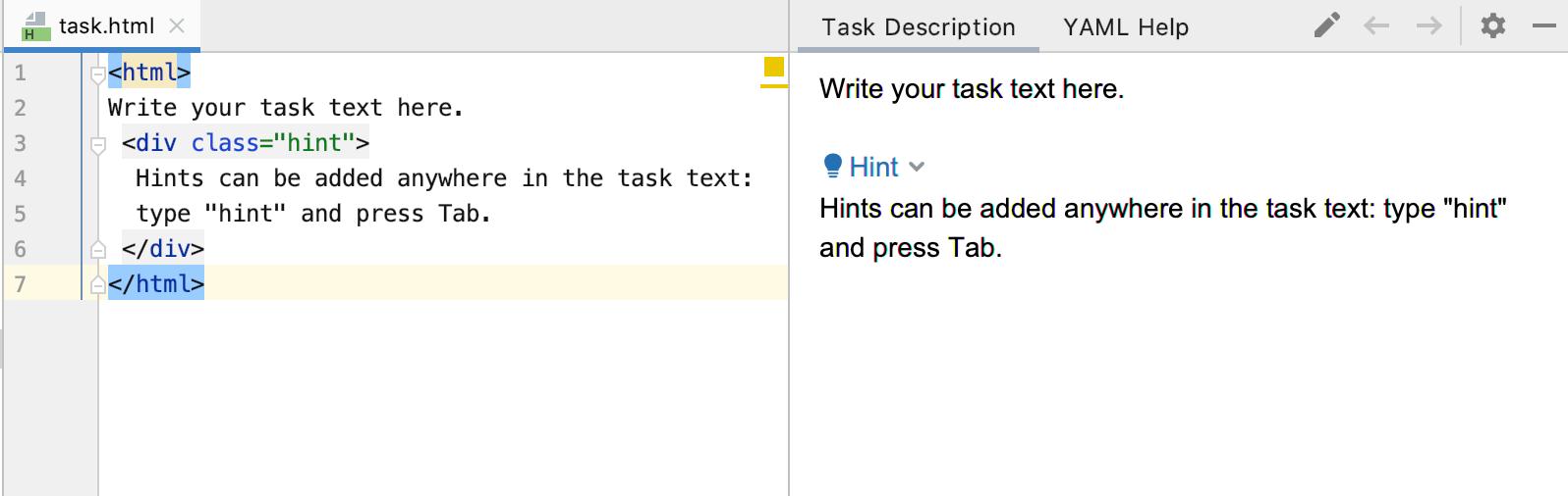 edu task description go