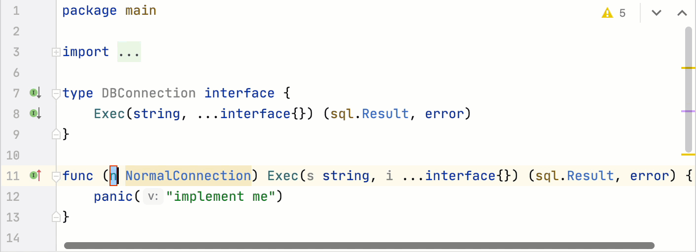 Example of go generate