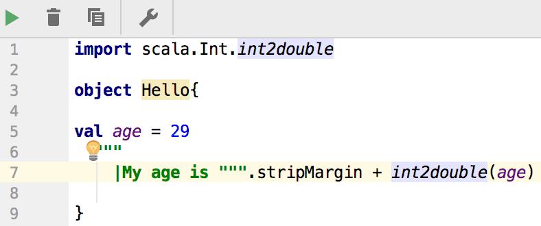 Make explicit import method