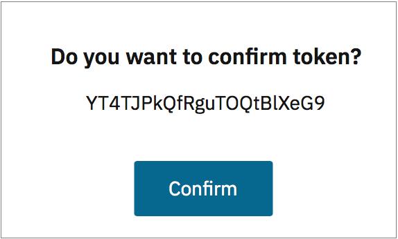 Datalore token