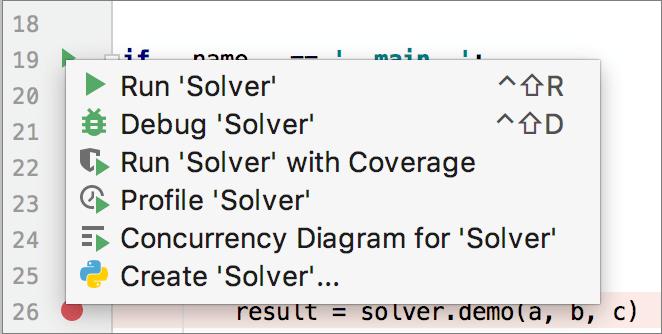 debug Python script