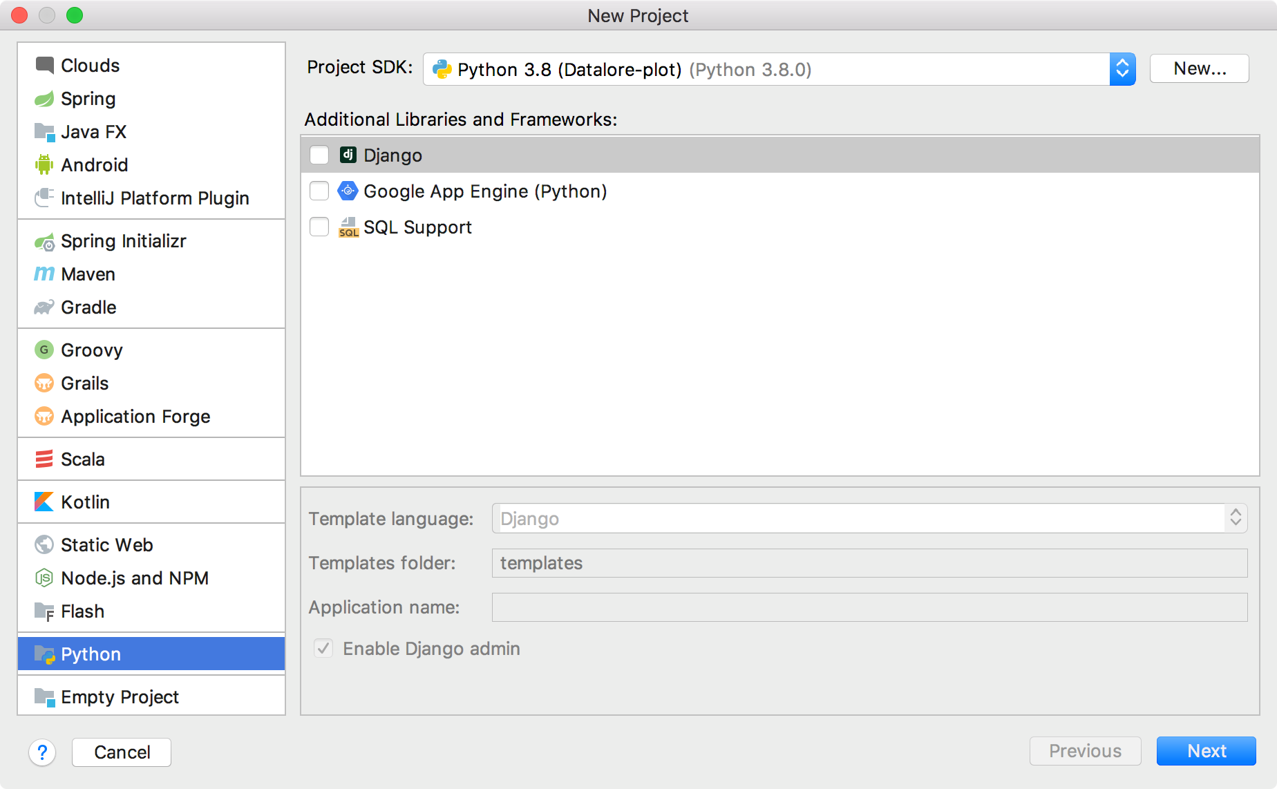 py plugin module type