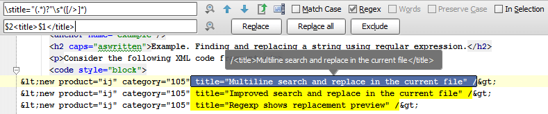 Using Find and replace with Regex groups