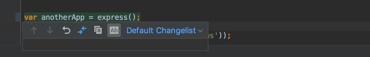 change marker toolbar