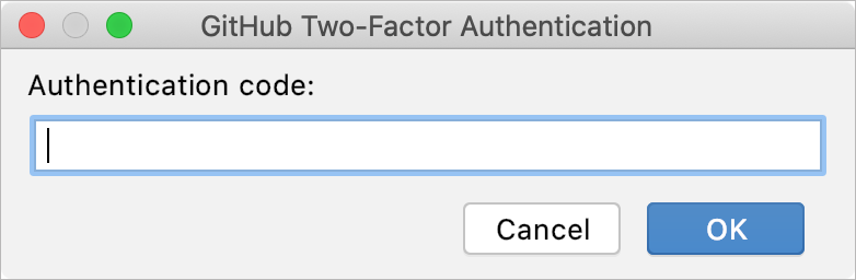 Two-factor authentication on GitHub