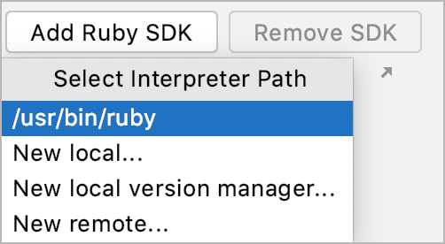 Specify Ruby SDK