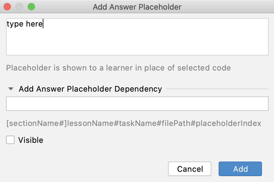 edu answer placeholder add dependency png