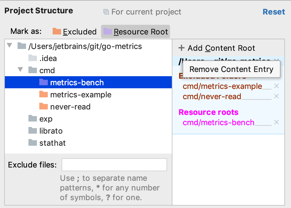 Add Content Root