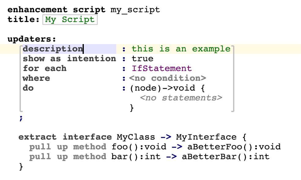 Scripts extract