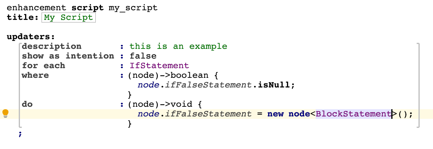 Scripts instance updater