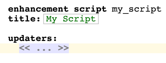 Scripts name