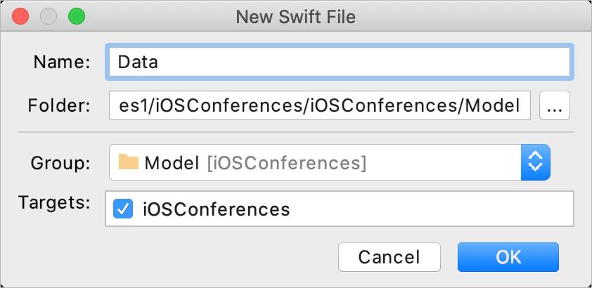Add a new Swift file
