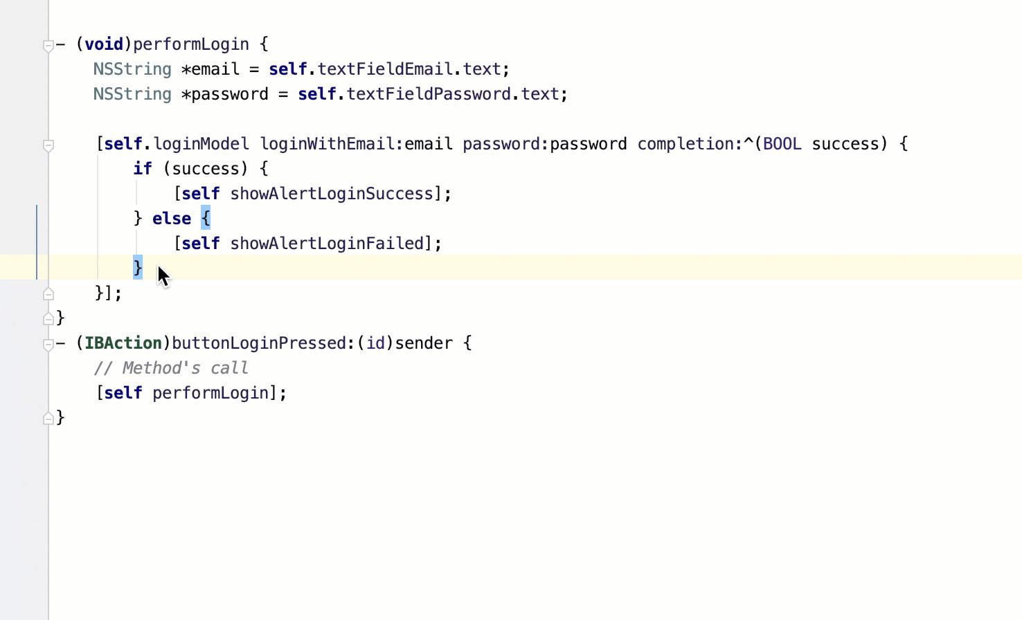 Extract block parameter