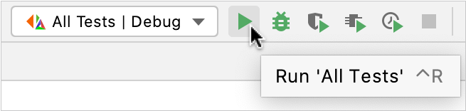 Configuration switcher and toolbar
