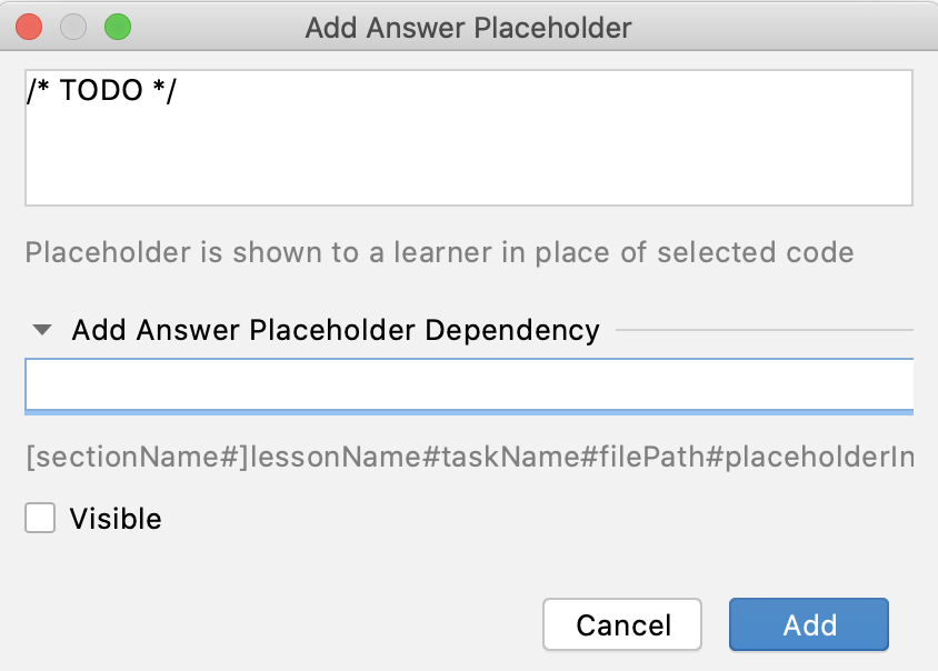 edu answer placeholder add dependency java png