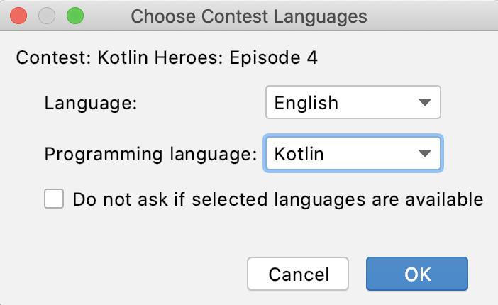 Edu codeforces choose contest languages