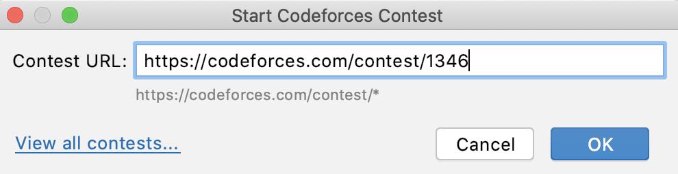 Edu codeforces contest url