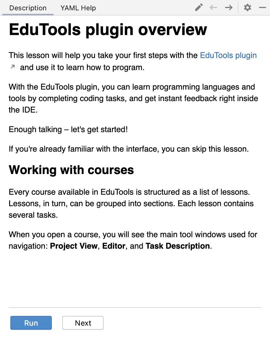 Edu task description