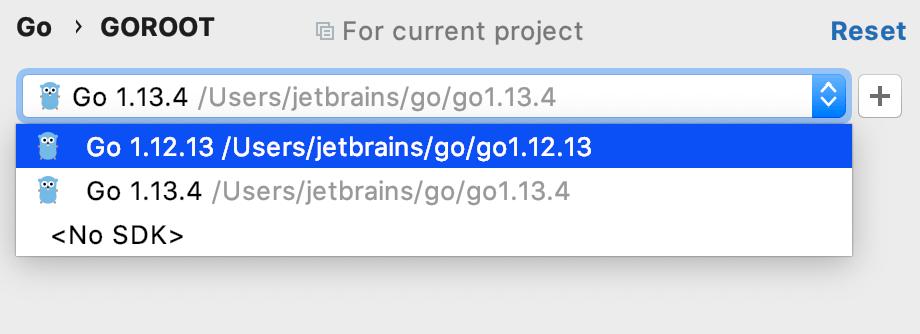 Configuring GOROOT
