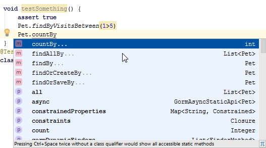 Smart query completion
