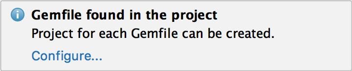 gemfile warning